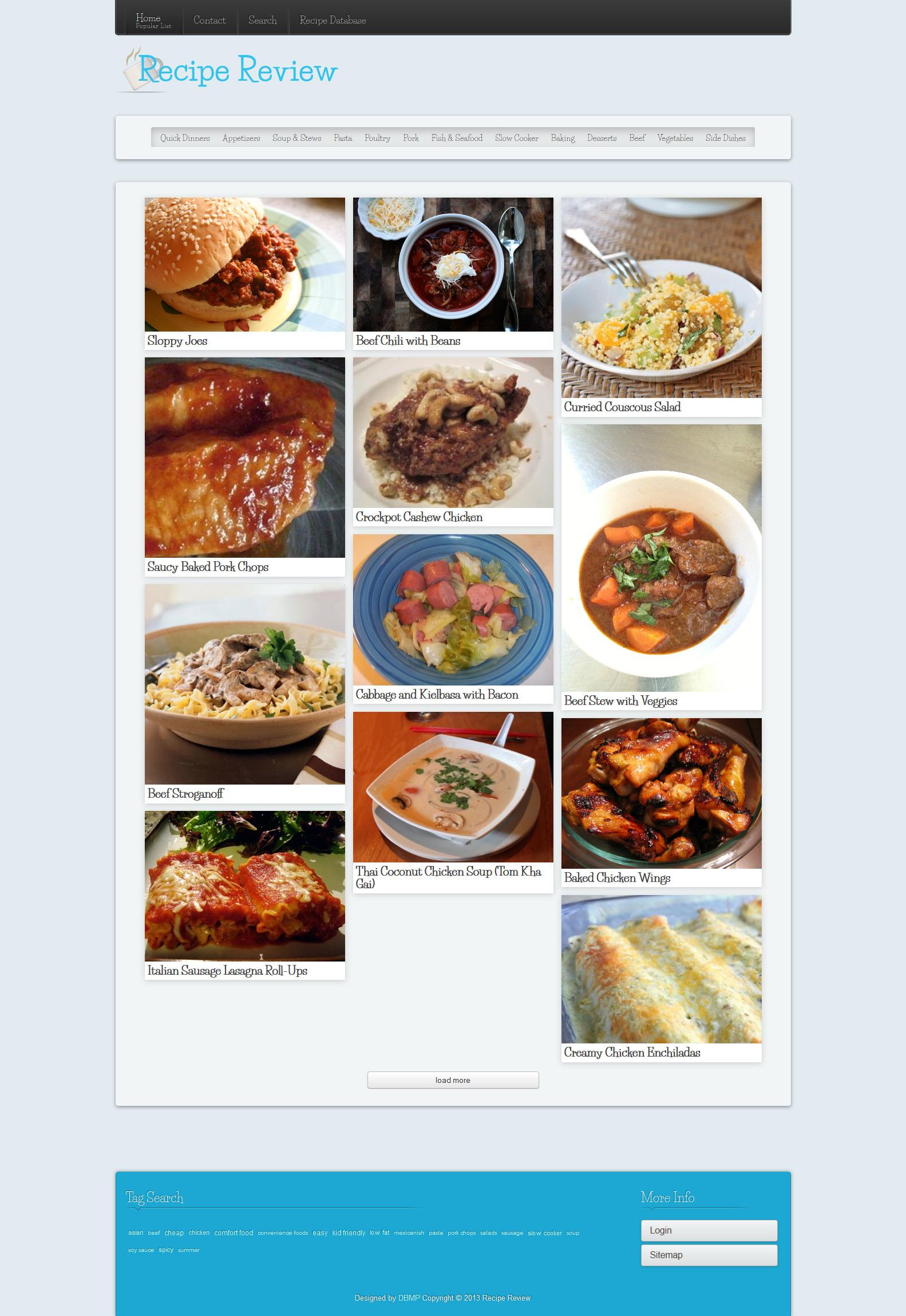 recipe review